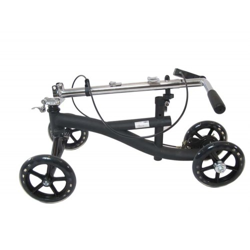 A Folded Knee Scooter for Broken Legs