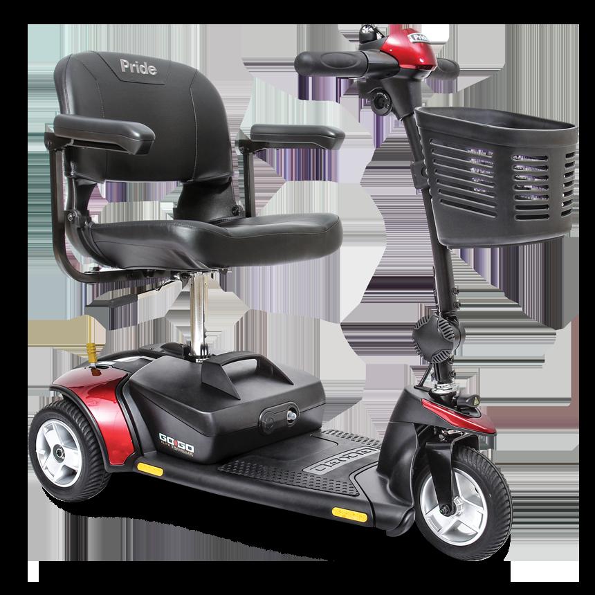 GoGo Elite Traveller 3-Wheel