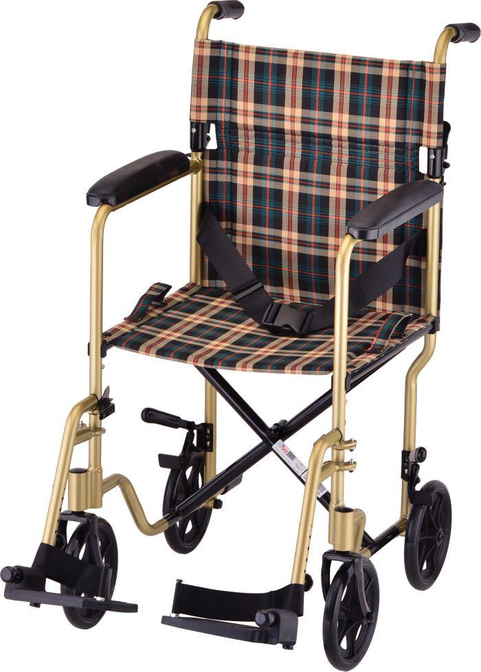 Transport Chair- w/ Hand Brakes