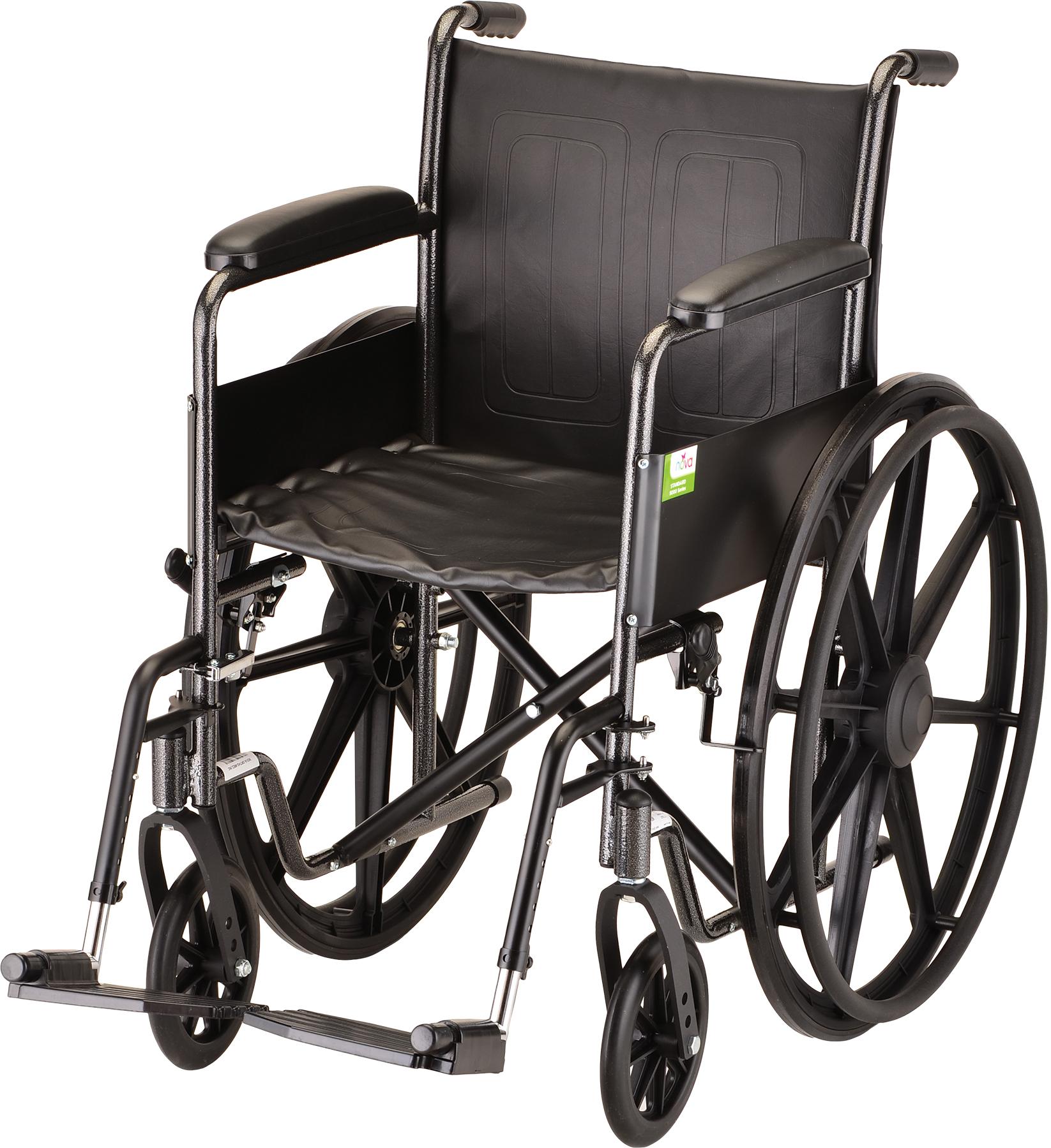 18 Inch Hammertone Wheelchair