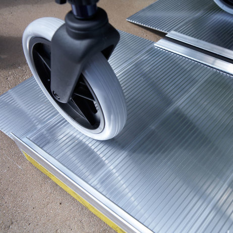 Suitcase Ramp for Wheelchairs